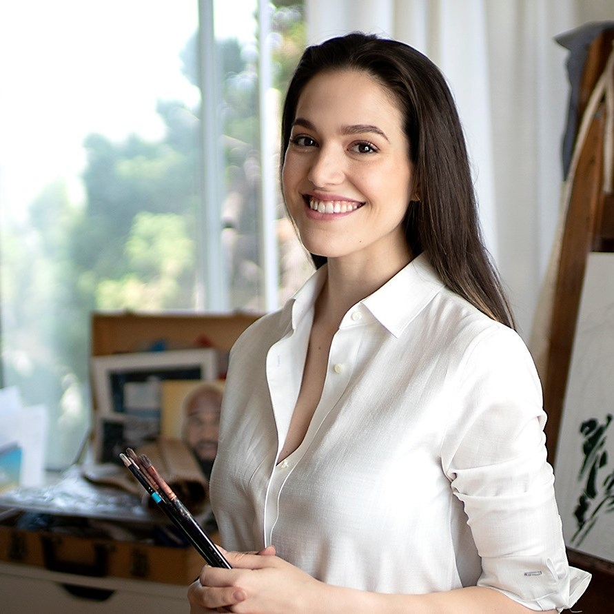 Rebecca Tillman-Young. Founder of RTY Art. Creator of Lifelike Portraits in 21 Days